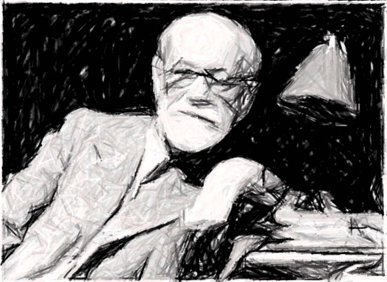 Freud a lapiz